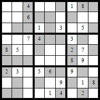 Salzkammergut Sudoku