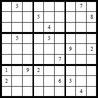 Sudoku Varianten